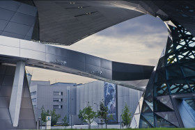 BMW Welt München (BMW World Munich) Headquarter Architekturfotograf