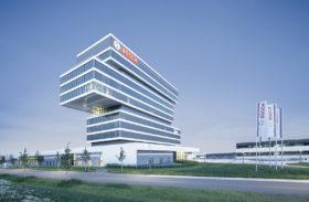 BOSCH Renningen Zentrum für Forschung und Vorausentwicklung - Architekturfotograf in Starnberg bei München