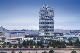 BMW Tower (Headquarter), Architekturfotograf in München bzw. Starnberg