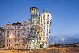 Dancing House Prague (Tanzendes Haus Prag) Architekturfotograf in München