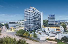 SWR Zentrale / Hochhaus Stuttgart - Copyright by Michael Pruckner Fotografie