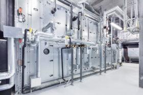Industriefotografie Anlage Klimaanlage Luftbefeuchter