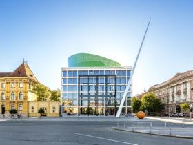 Academy of Music Zagreb University Muzička akademija Architekturfotograf